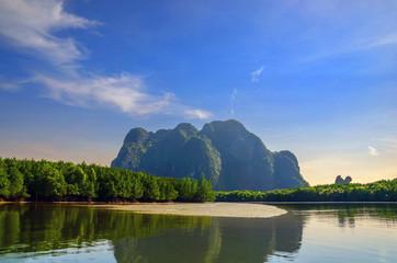 lever de soleil sur la Taillande