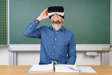 lernen mit virtual reality brille