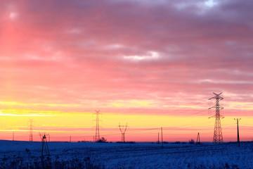 Elektryzujący Zimowy Świt