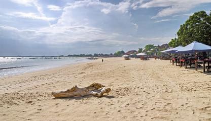 Jimbaran beach on Bali, Indonesia