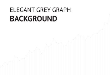 Vector elegant grey graph website background EPS10