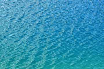 Blue Water Surface Background Texture
