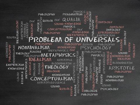 Problem of universals