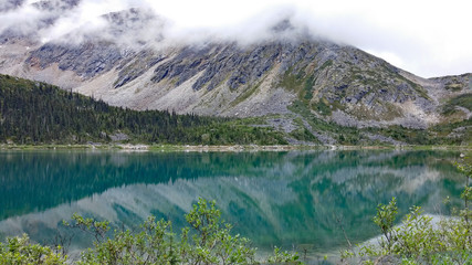 Upper Dewey Lake in summer, Skagway, Alaska