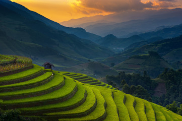 Sunset @ Mu Cang Chai