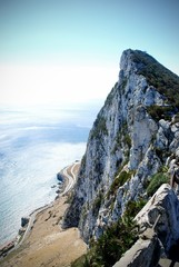 The Rock of Gibraltar, UK.