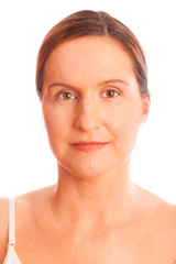 Portrait Of A Woman In Her Forties