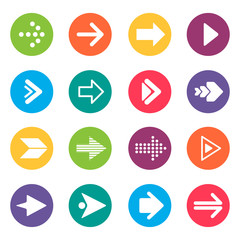Arrow Icons Design Elements