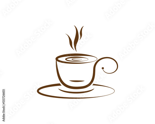 coffee cup logo template - photo #3