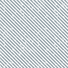 Seamless vector striped pattern. Grey geometric background with diagonal lines. Grunge texture with attrition, cracks and ambrosia. Old style vintage design. Graphic illustration.