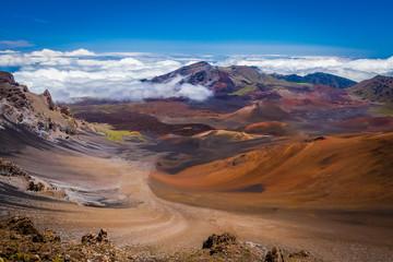 Haleakala Crater, Maui, Hawaii.