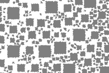 Keuken foto achterwand Pixel Abstract background with random boxes. Pattern for new year concept.