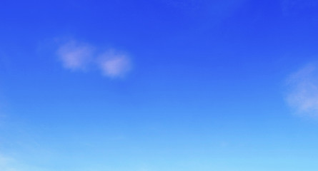 blue sky with cloud.White fluffy clouds in the blue sky
