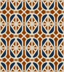 seamless pattern with simple arabic elements