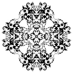 Mandala alone