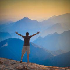 Enjoy the high peaks valley
