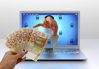 Ransomware key - pay money