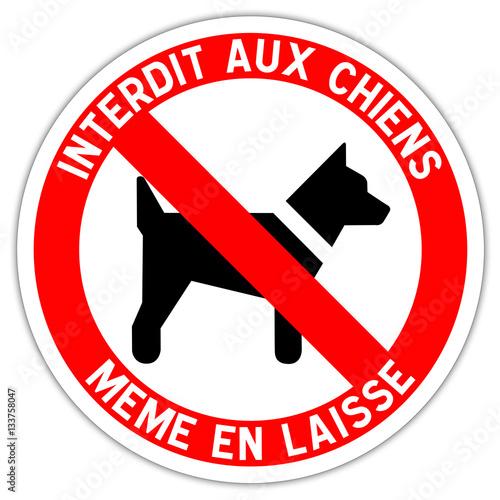 panneau interdit aux chiens photo libre de droits sur la banque d 39 images image. Black Bedroom Furniture Sets. Home Design Ideas