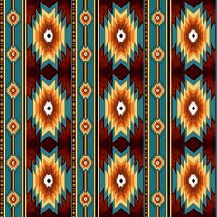 ethnic tribal motifs. navajo seamless pattern