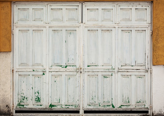 Old Retro Wooden Doors
