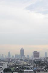 Ausblick von Golden Mount in Bangkok, Thailand