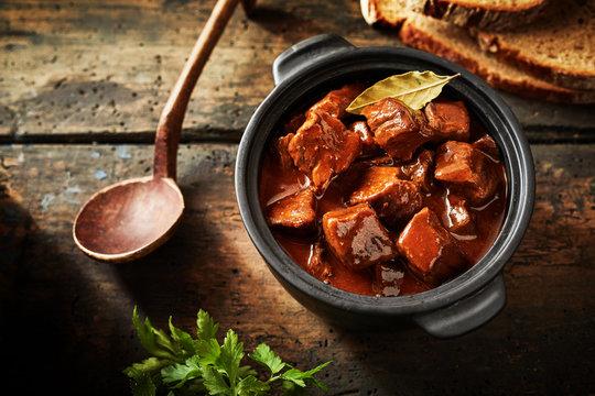Delicious traditional german cuisine