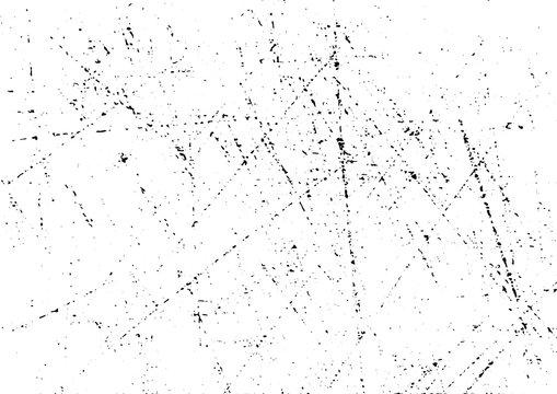 Grunge texture scratch background vector.