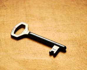 old key on gold