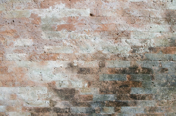 the background picture of old brick wall