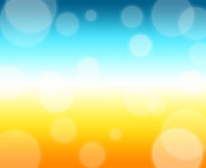 summer gradiant background