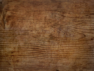 old scratched wooden board background