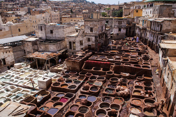 Chouara Tannery. Morocco