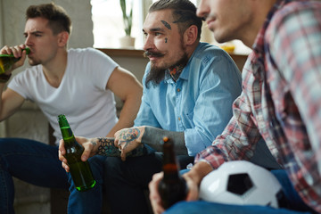 Leisure of football fans