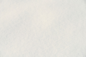 Fresh White Snow Texture