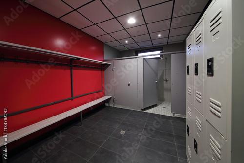 Vestiaire douche centre sportif photo libre de droits sur la banque d 39 images - Sportifs dans les douches ...
