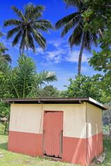 Restroom building-Topol secondary school complex. Newa village-Olal-Ambrym island-Vanuatu. 6215