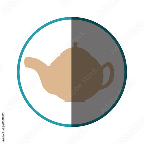Teapot Kitchen Tool Isolated Icon Vector Illustration Design Imagens E Vetores De Stock