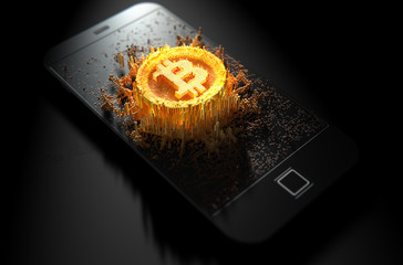 Bitcoin Cloner Smartphone