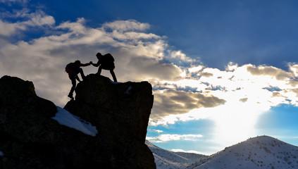 tırmanış,destek,yardım ve beraberlik