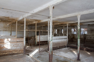 Abandoned farm.