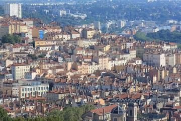 Vue panoramique. Lyon / Panoramic view. Lyon.