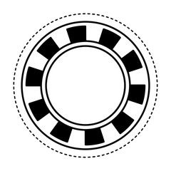 coin casino isolated icon vector illustration design