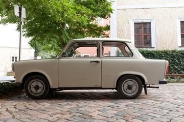 old GDR car Trabant or Trabi