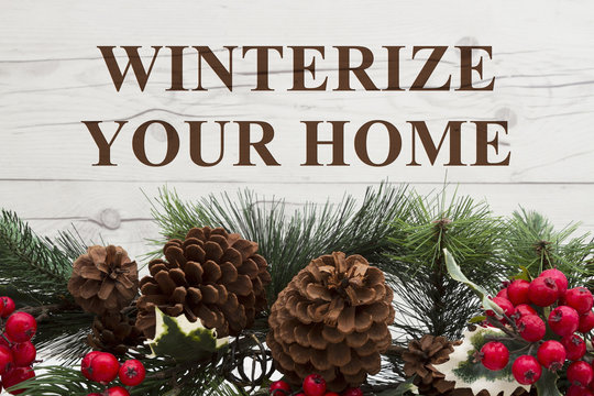 Old fashion winter message