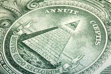 Macro Dollar Eye