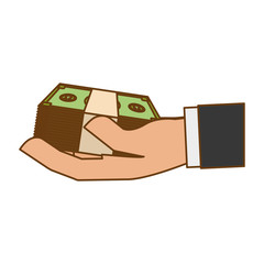 cash money related icons image vector illustration design