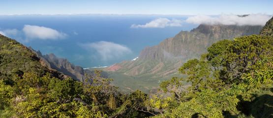 Waimea Canyon, Napali Küste, Napali Coast, Hawaii, Kauai, Canyon, Steilküste, Jurassic Park, USA, Berge