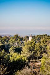 Vue depuis le moulin Saint-Pierre d'Alphonse Daudet