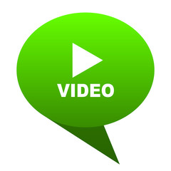 video green bubble icon