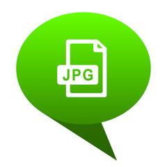 jpg file green bubble icon
